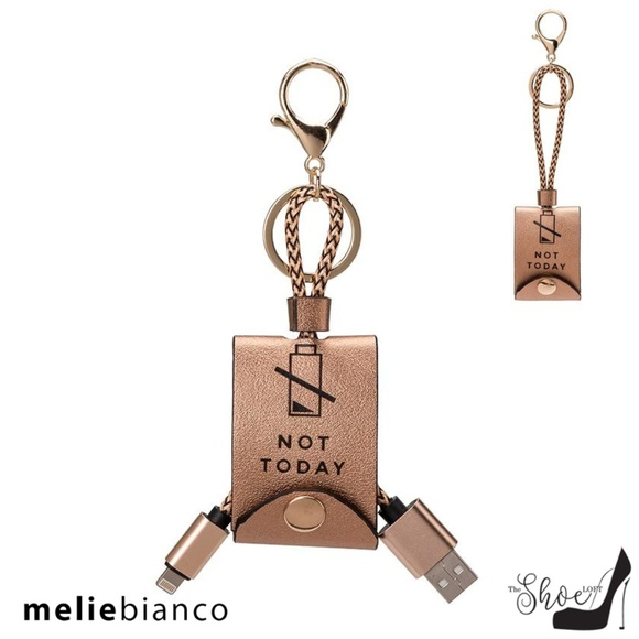 Melie Bianco Rose Gold USB iPhone Charger